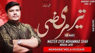 Master Muhammad Shah - Teri Merzi New Manqabat - Qasida 2020 - Imam Hussain Manqabat 2020 - Shaban