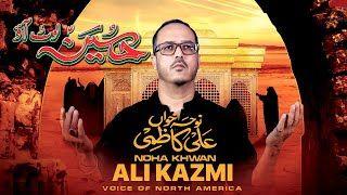 HUSSAIN LOT AAO | ALI KAZMI | New Nohay 2021 | Muharram 2021 | USA Noha